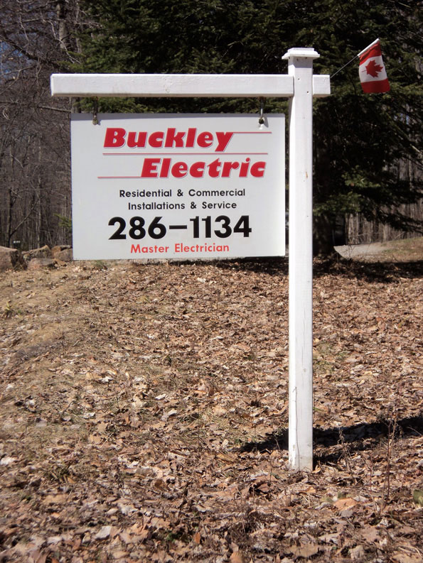 Buckley Electric sign